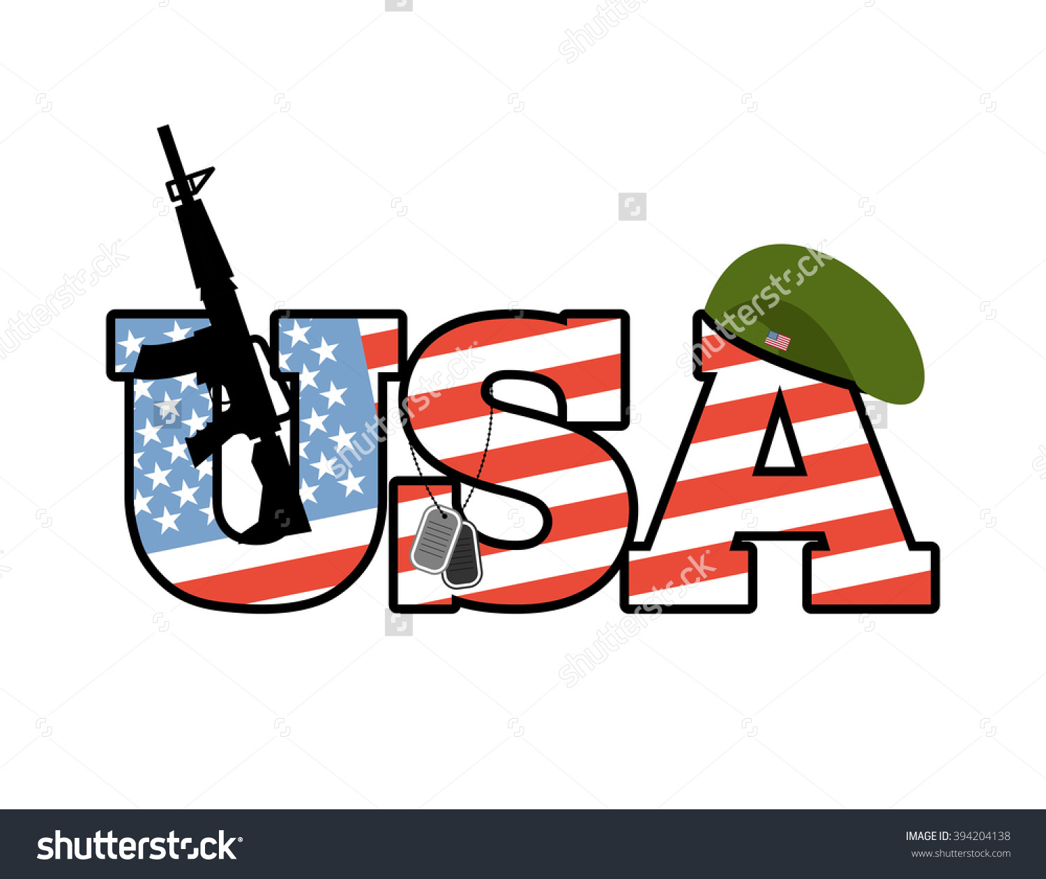 United states flag army clipart vector library stock Us Army Emblem Flag United States Stock Vector 394204138 ... vector library stock