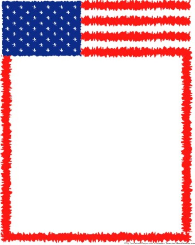 Us flag page clipart border clipart royalty free download Free American Flag Page Border, Download Free Clip Art, Free ... clipart royalty free download