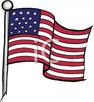 United states flag clip art banner free stock United States American Flag Clipart - Clipart Kid banner free stock