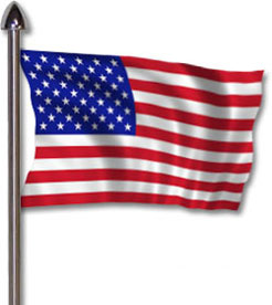 United states flag clipart picture freeuse library American flag united states flag clipart 2 clipartcow - Clipartix picture freeuse library
