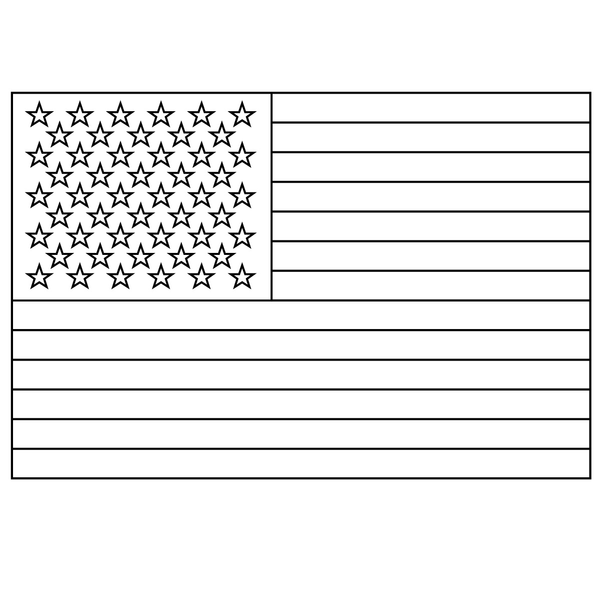 United states flag clipart graphic freeuse stock United States of America Flag Clip Art - U.S.A Flag Clipart graphic freeuse stock