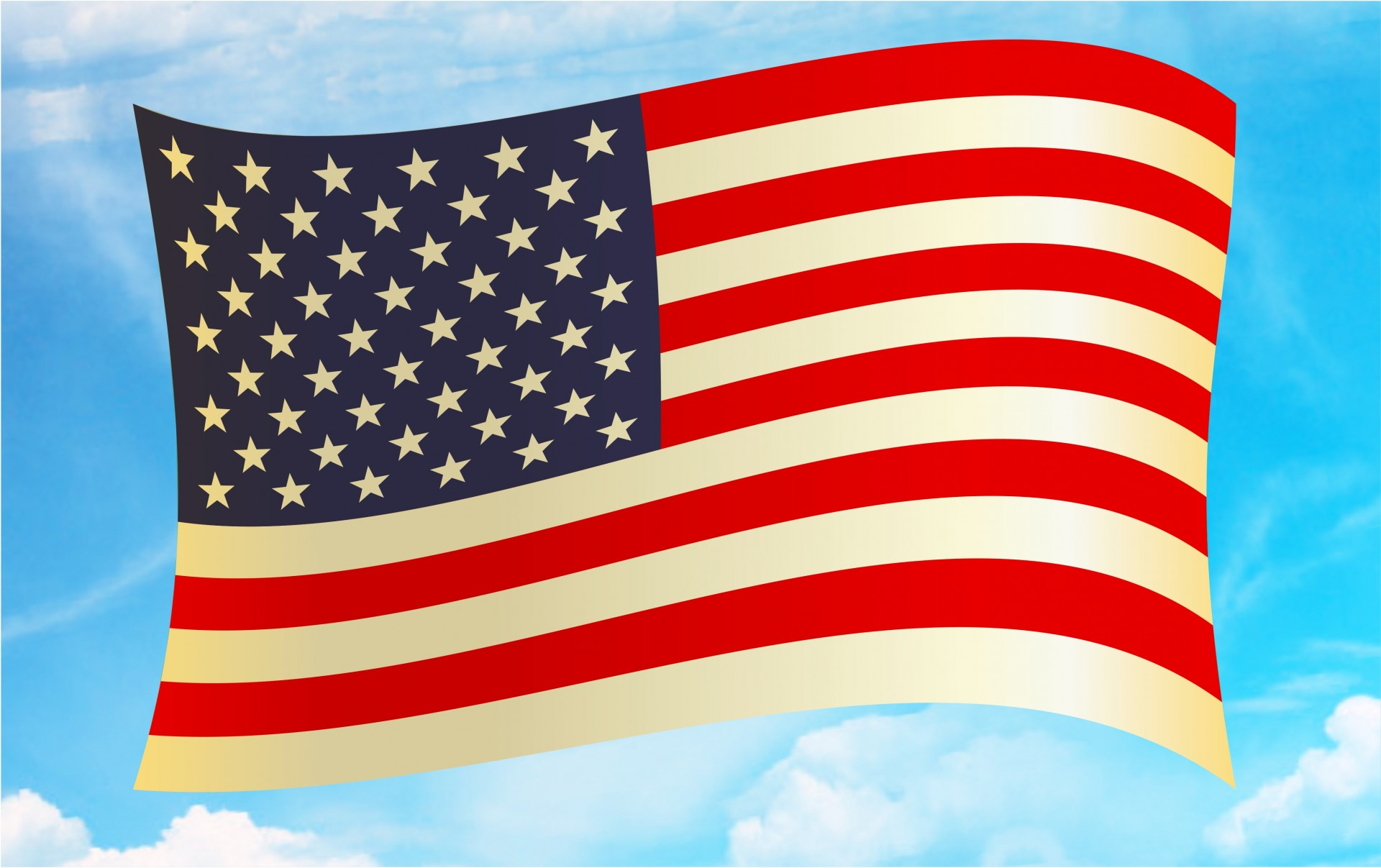 United states flag clipart free transparent stock American Flag Clipart Free Stock Photo - Public Domain Pictures transparent stock