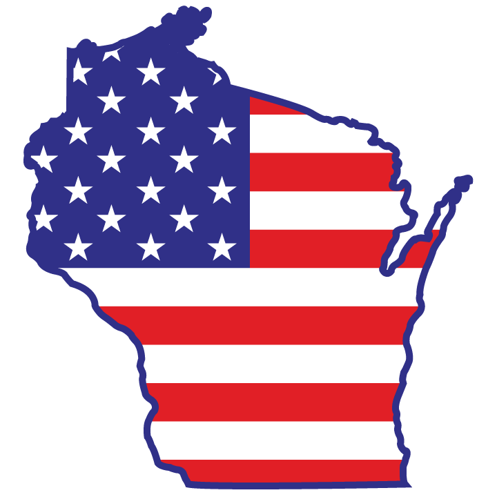 United states flags clip art image library library Wisconsin, U.S.A. | vilyjo | Pinterest | State outline, Wisconsin ... image library library