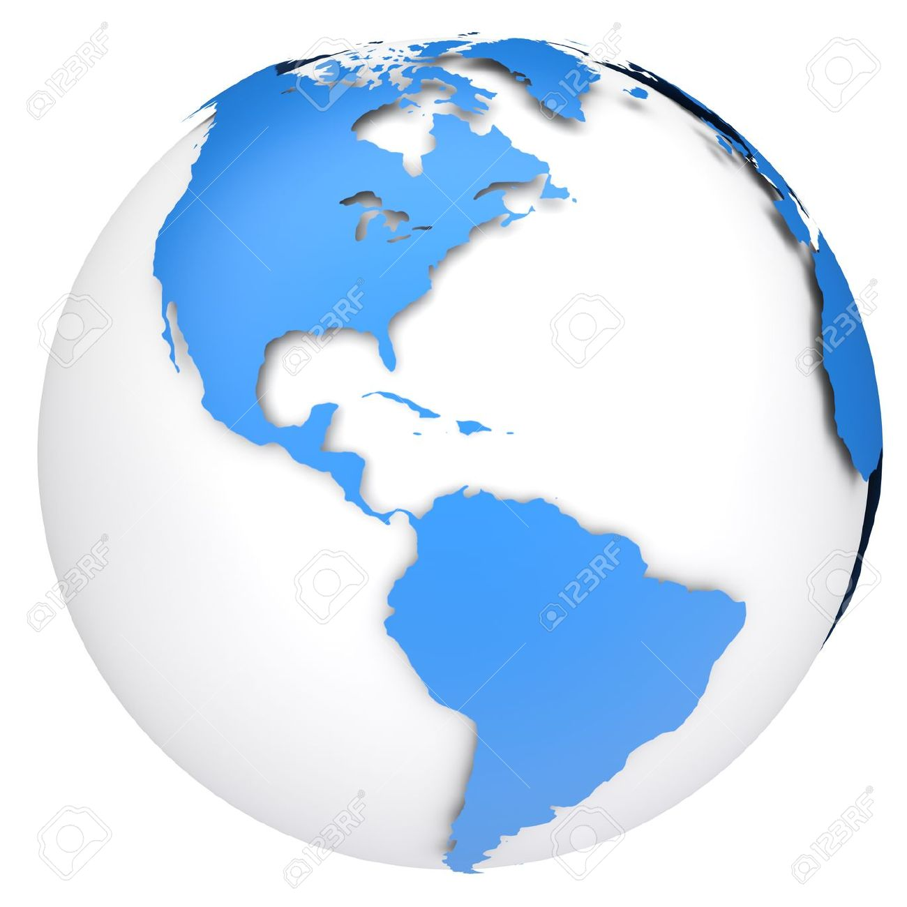 United states map globe clipart banner royalty free Earth Globe Map Side Of The North And South America Stock Photo ... banner royalty free