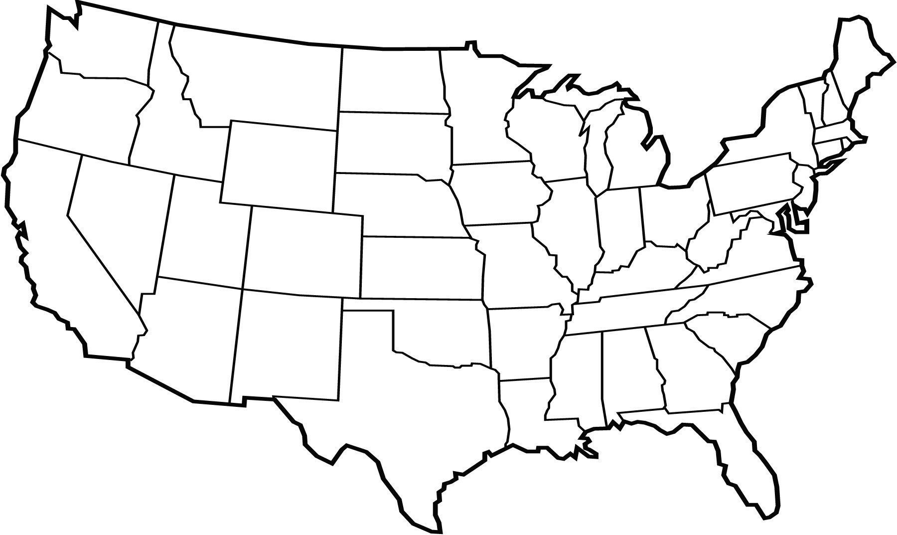 United states map outline clipart svg library library US Map : Usa Map Outline United States Vector Best Clipart ... svg library library