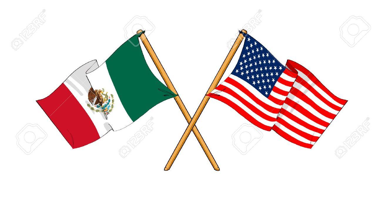 United states mexico flag clipart clipart free stock United states mexico flag clipart - ClipartFest clipart free stock