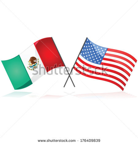 United states mexico flag clipart picture free library Mexico Flag Stock Images, Royalty-Free Images & Vectors   Shutterstock picture free library