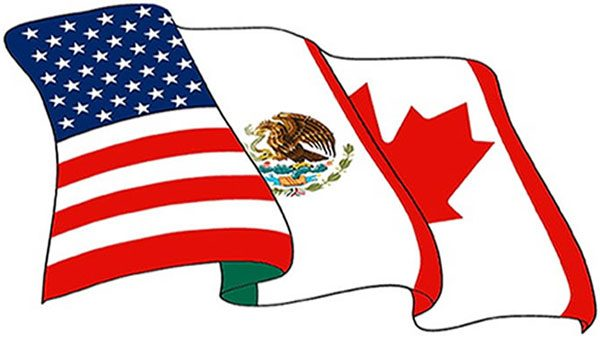United states mexico flag clipart jpg black and white Mexico, US, Canada: they don't understand each other very well jpg black and white
