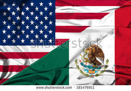 United states mexico flag clipart vector Mexican-american Stock Photos, Royalty-Free Images & Vectors ... vector
