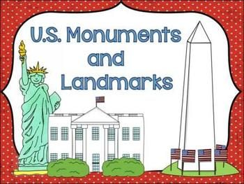 United states national monuments clipart svg Monuments and Landmarks of the United States   TEACHING ... svg