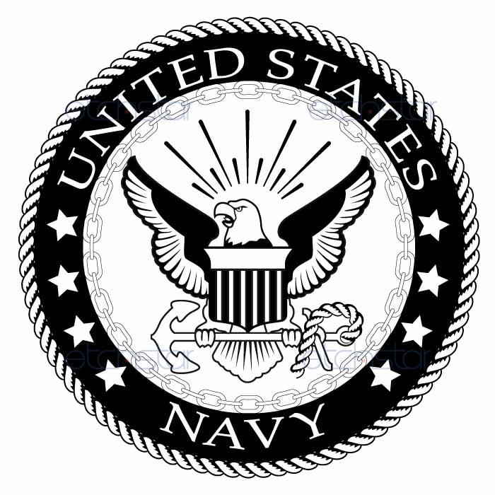 United states navy clip art picture freeuse library United states navy logo black and white clipart - ClipartFest picture freeuse library