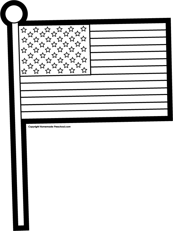 United states of america flag clipart black and white kids clipart free library Us flag american flag us vector clipart kid 3 - Clipartix clipart free library