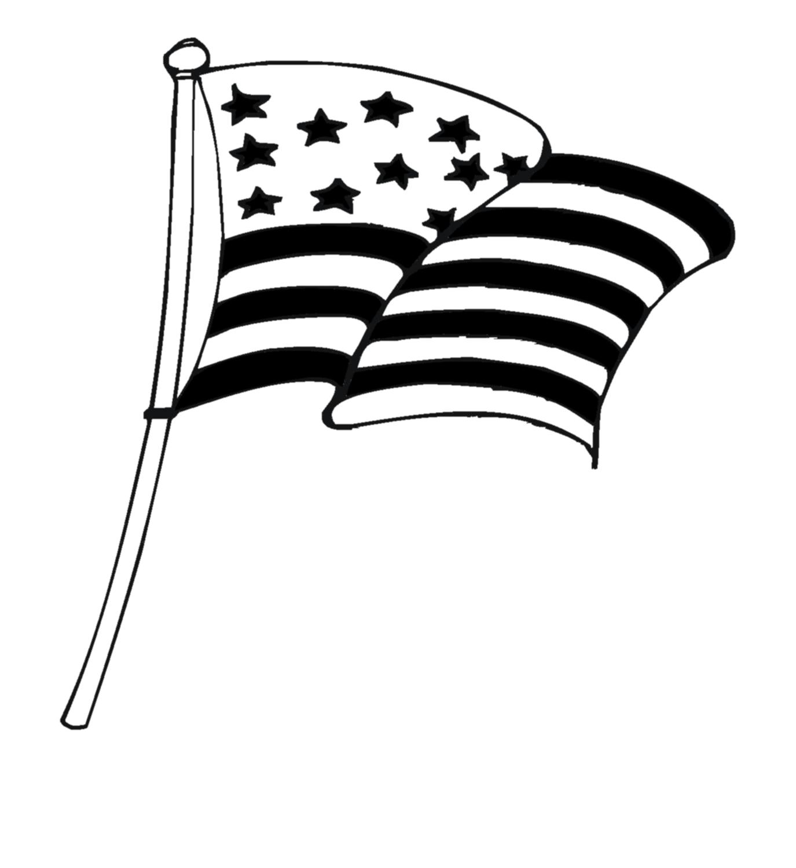 United states of america flag clipart black and white kids free Us Flag Black And White   Free download best Us Flag Black ... free