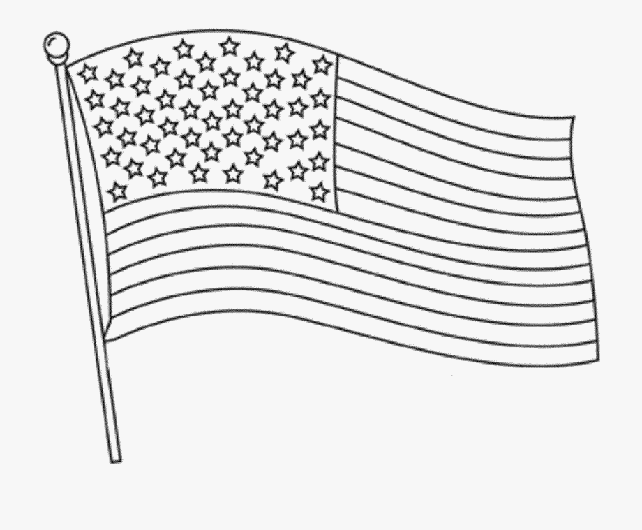 Us flag black and white clipart picture free stock American Flag Clipart - American Flag Black And White ... picture free stock