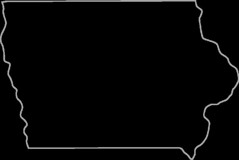United states outline clip art svg free Iowa Clipart | Clipart Panda - Free Clipart Images svg free