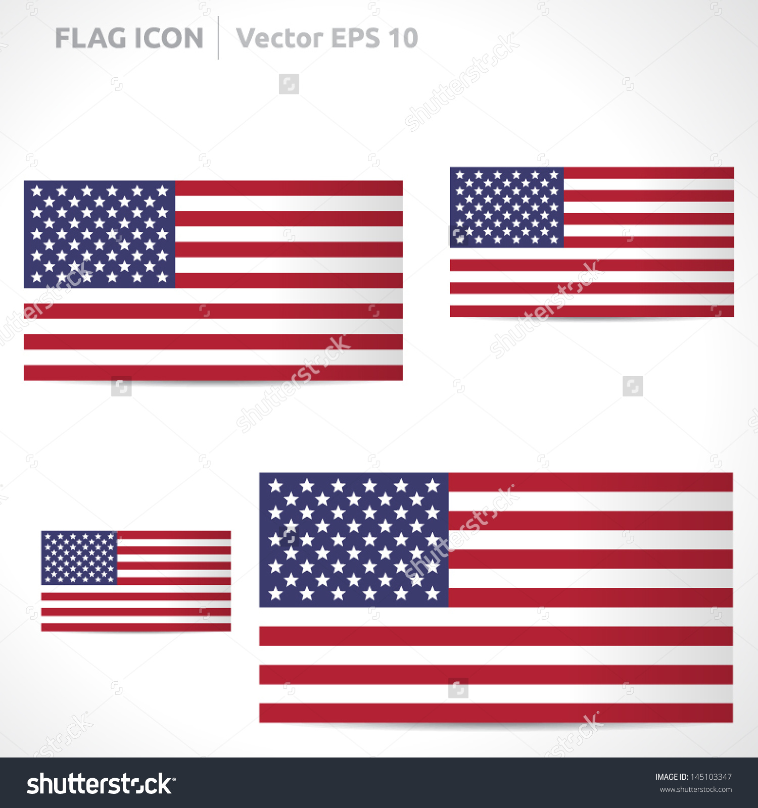 United states outline clipart red banner transparent stock United States Flag Template Vector Symbol Stock Vector 145103347 ... banner transparent stock