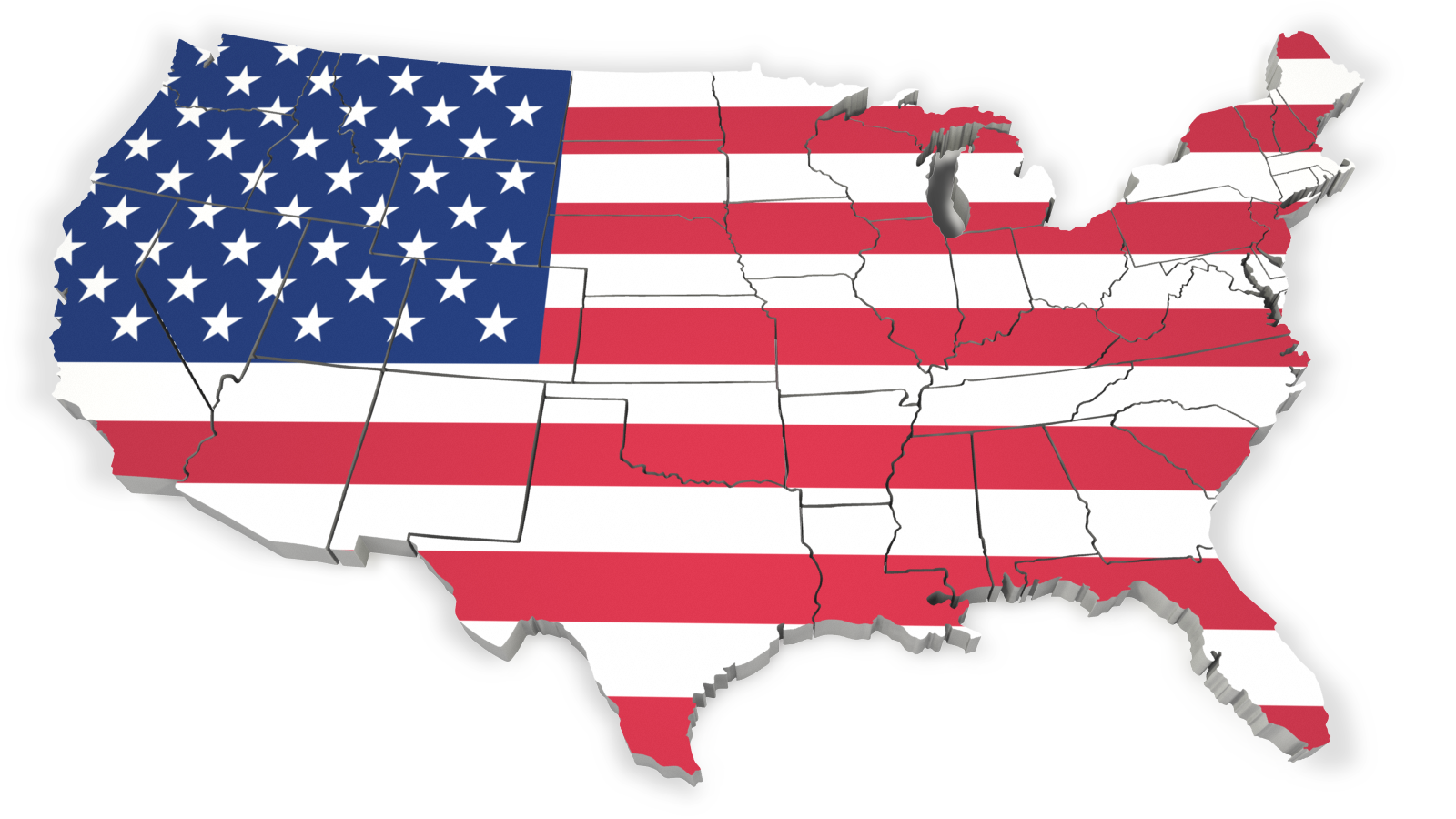 United states outline clipart red - ClipartFest graphic royalty free stock