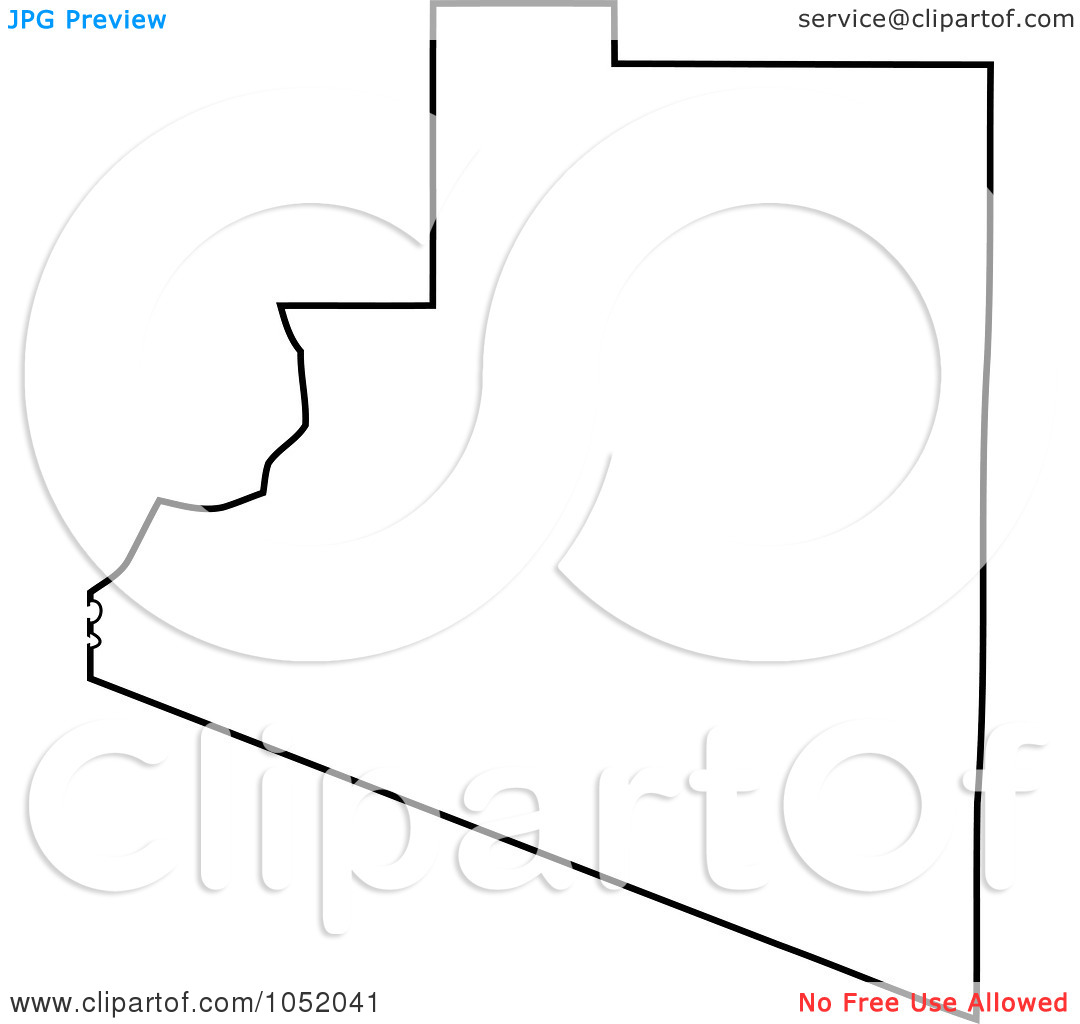 United states outline drawing clipart picture transparent Royalty-Free Vector Clipart Illustration of a Black Outline Of ... picture transparent