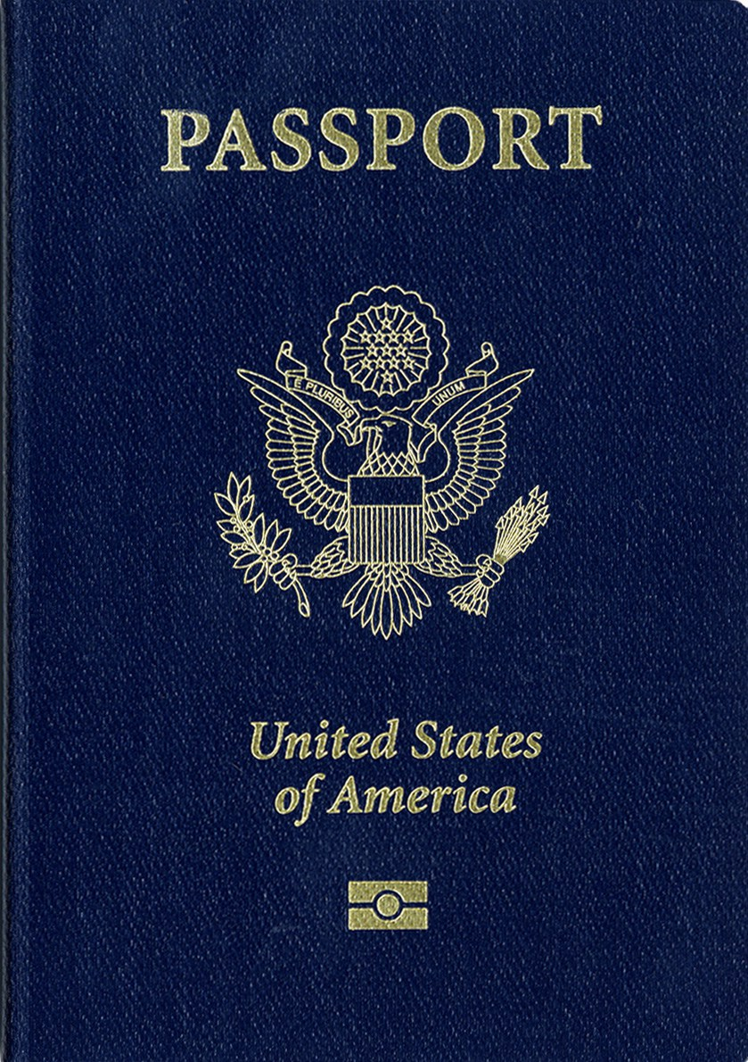 United states passport clipart banner freeuse library Us Passport Template. sample passport 8 documents in psd pdf word ... banner freeuse library