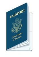 United states passport clipart jpg Us passport clipart - ClipartFest jpg
