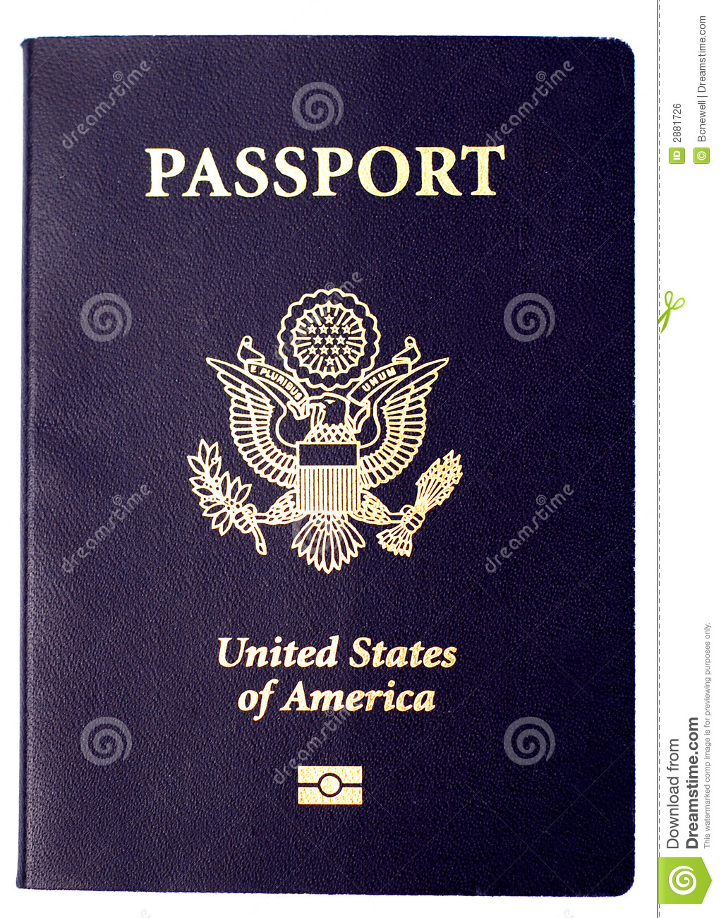 United states passport clipart svg freeuse download US Passport Royalty Free Stock Image - Image: 2881726 svg freeuse download