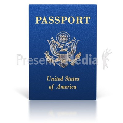 United states passport clipart png freeuse download United States Passport Booklet - Signs and Symbols - Great Clipart ... png freeuse download