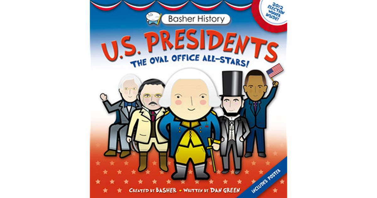 United states president chalk clipart png black and white stock Basher History: US Presidents: Oval Office All-Stars by ... png black and white stock