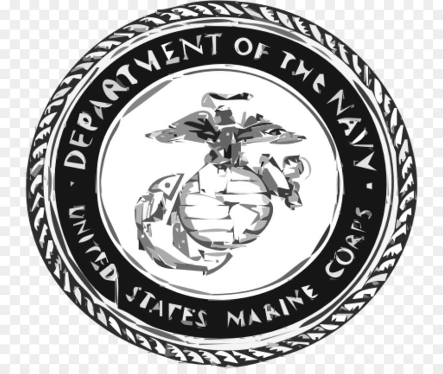 United states usmc logo black and white clipart vector library United States Of America Black And White png download - 796 ... vector library