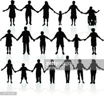 United we stand clipart svg freeuse download People Holding Hands United We Stand stock vectors - Clipart.me svg freeuse download