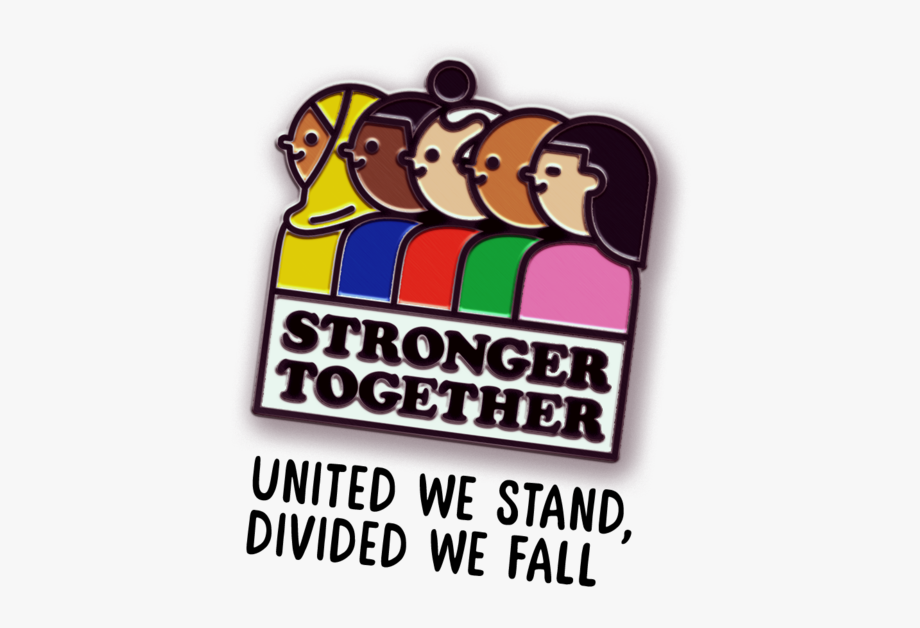 United we stand clipart jpg freeuse stock Stronger Together Pin Animation - Clipart On United We Stand ... jpg freeuse stock