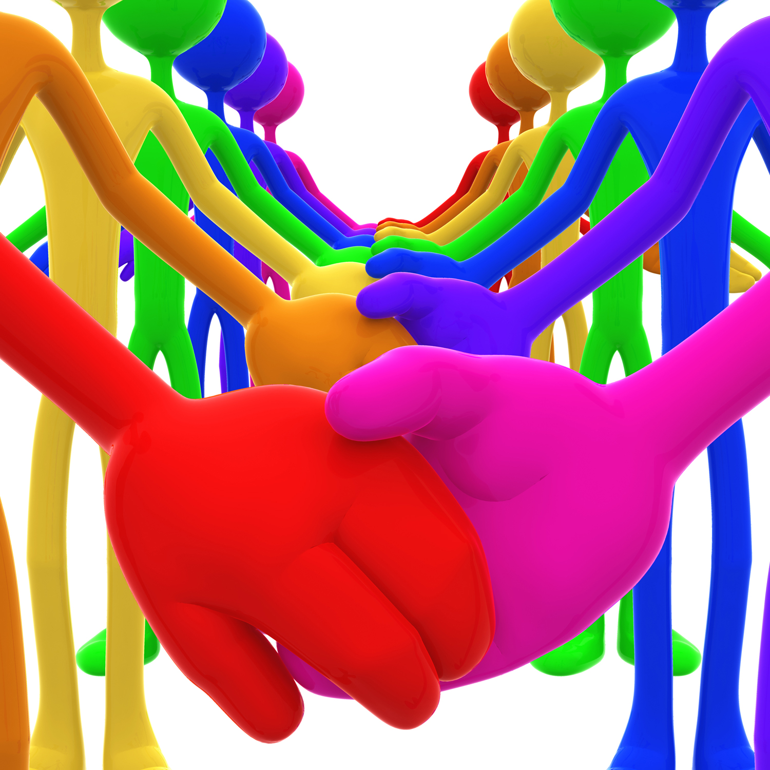 Unity holding hands free clipart image black and white library File:3D Full Spectrum Unity Holding Hands Concept.jpg ... image black and white library