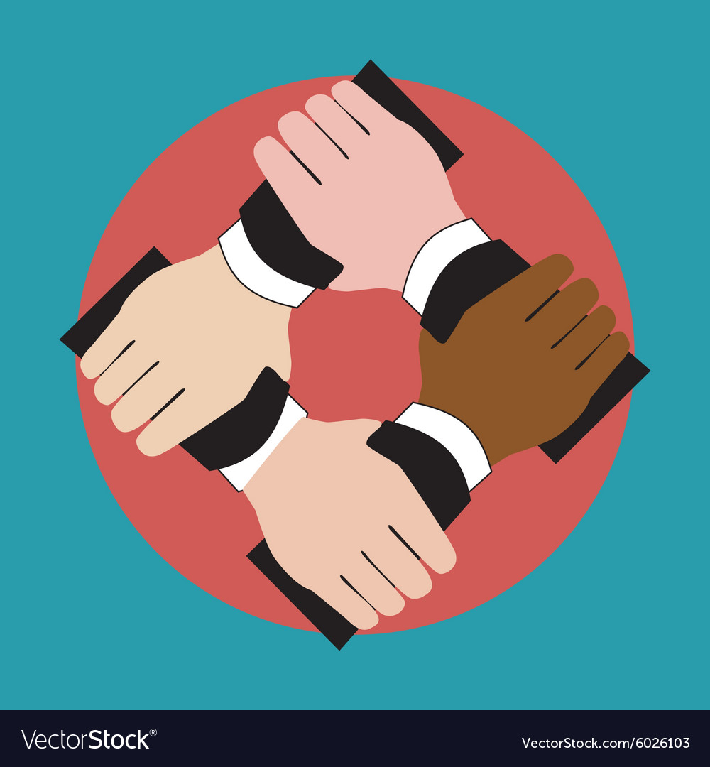 Unity holding hands free clipart free stock Hands holding each other showing unity free stock