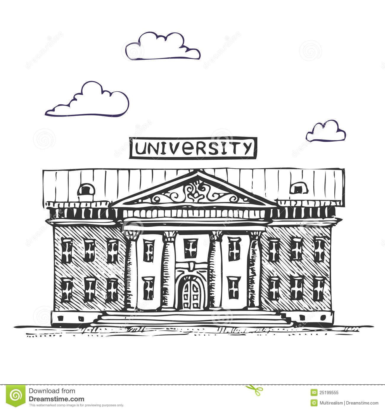 University building clipart png picture library library University Clipart - Clipart Kid picture library library