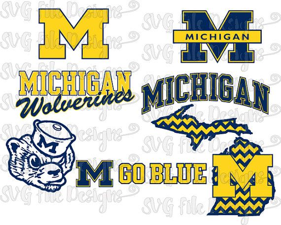 University michigan clipart clipart library download University of Michigan Wolverines Football Logo by ... clipart library download