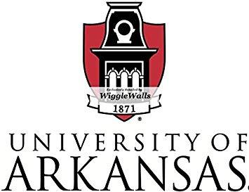 University of arkansas clipart transparent library Amazon.com: 7 Inch University of Arkansas Logo Uark ... transparent library