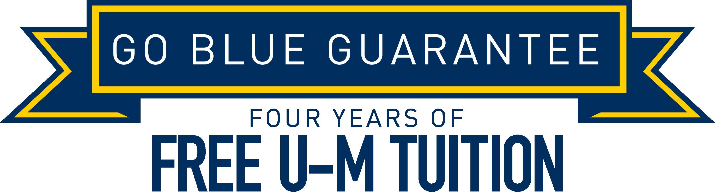 University of michigan football clipart clip art library stock Go Blue Guarantee | University of Michigan clip art library stock