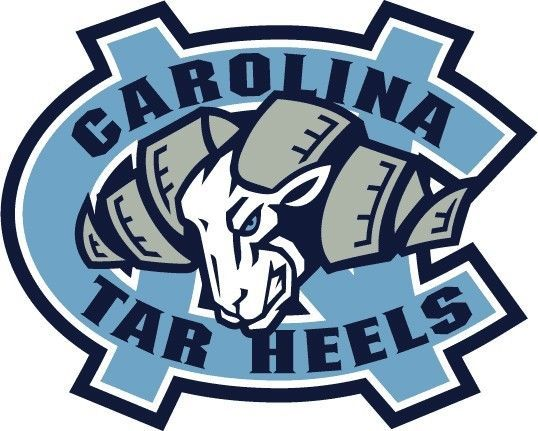 University of north carolina clipart png freeuse UNC University of North Carolina Tarheel Large Logo Decals ... png freeuse