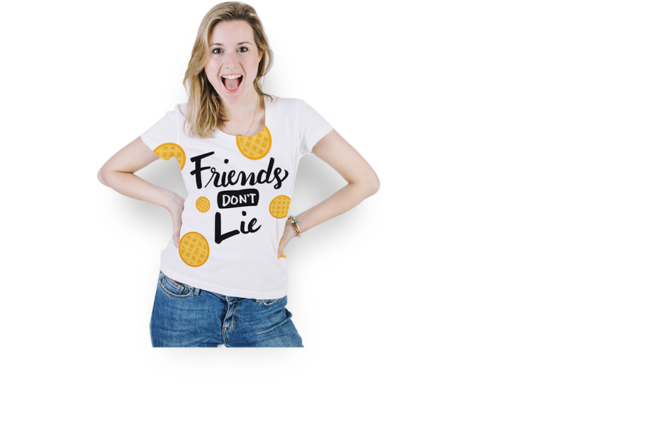 University t-shirt day with jeans kids clipart png black and white Online T-Shirt Maker   Make Your Own T-Shirt   Designhill png black and white