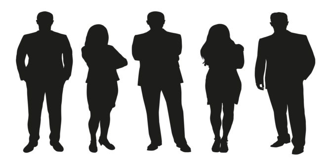 Unknown to tone person clipart jpg transparent library How To Create Quick Silhouettes In Photoshop jpg transparent library