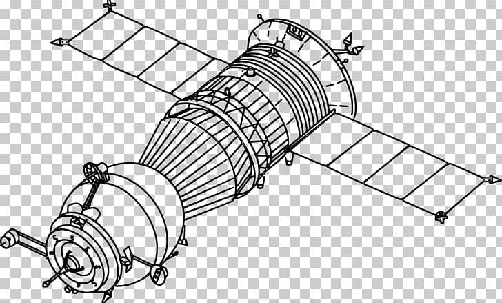 Unmanned spacecraft clipart