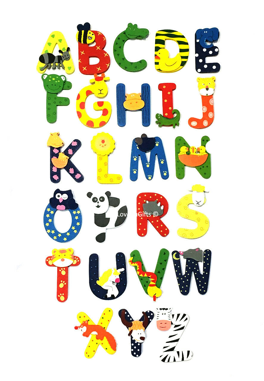 Unopened letter clipart picture library download Details about WOODEN JUNGLE ANIMAL ALPHABET LETTERS PERSONALISED BEDROOM  WALL DOOR NAME picture library download