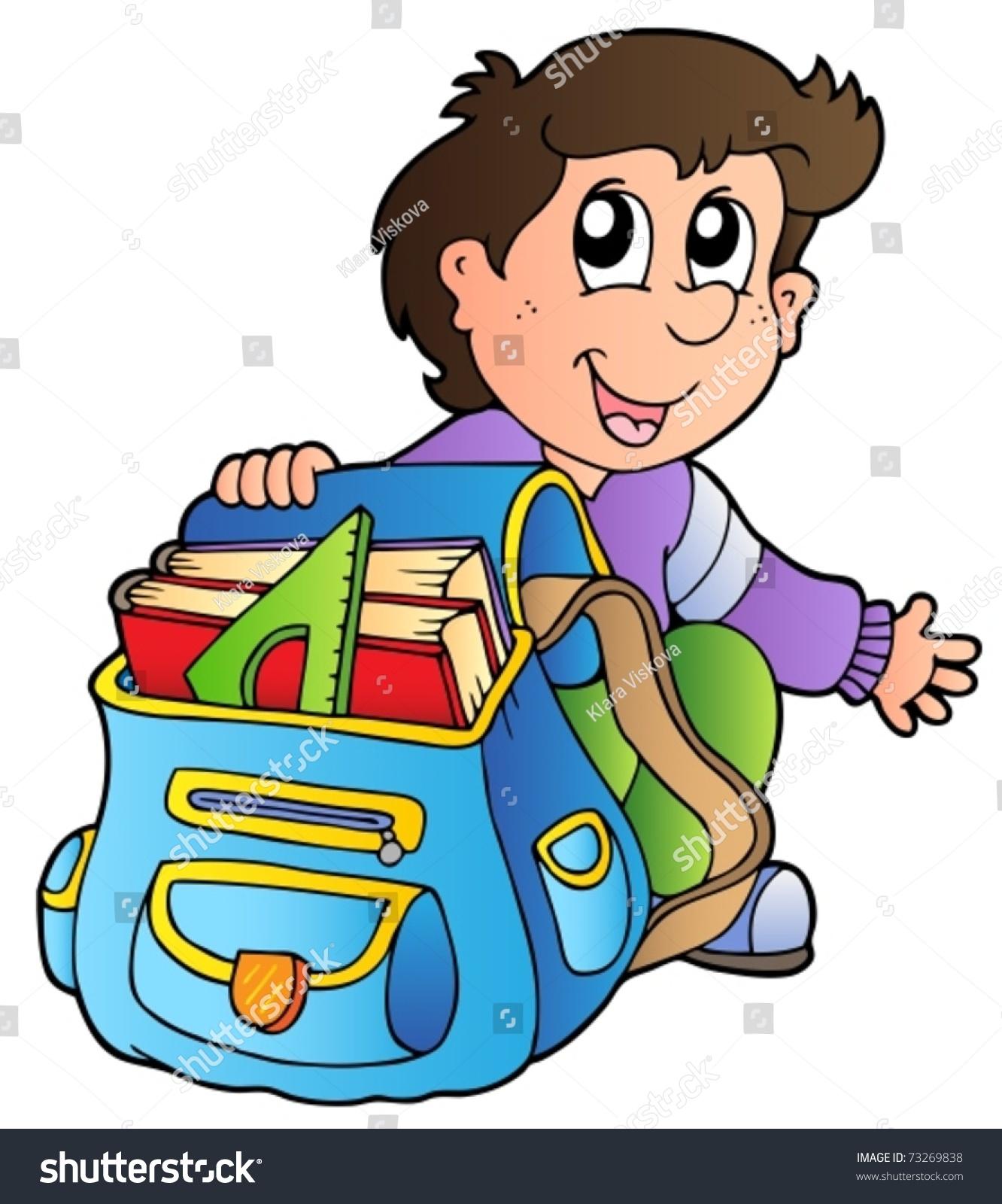 Unpacking clipart vector free Unpack school bag clipart 3 » Clipart Station vector free