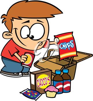 Unpacking clipart jpg free stock Royalty Free Clipart Image of a Boy Unpacking a Picnic ... jpg free stock