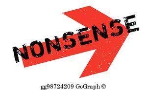 Unreason clipart clipart Vector Art - Nonsense-stamp. Clipart Drawing gg71485197 ... clipart