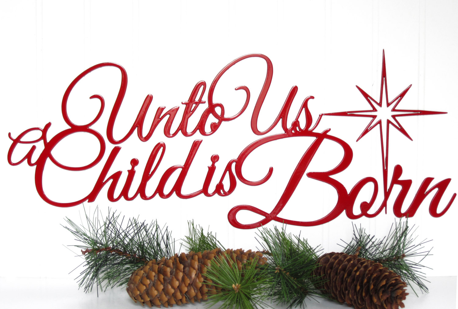 Unto us a child is born free clipart banner library Famous Religious Christmas Paintings Viewing Gallery - Free ... banner library