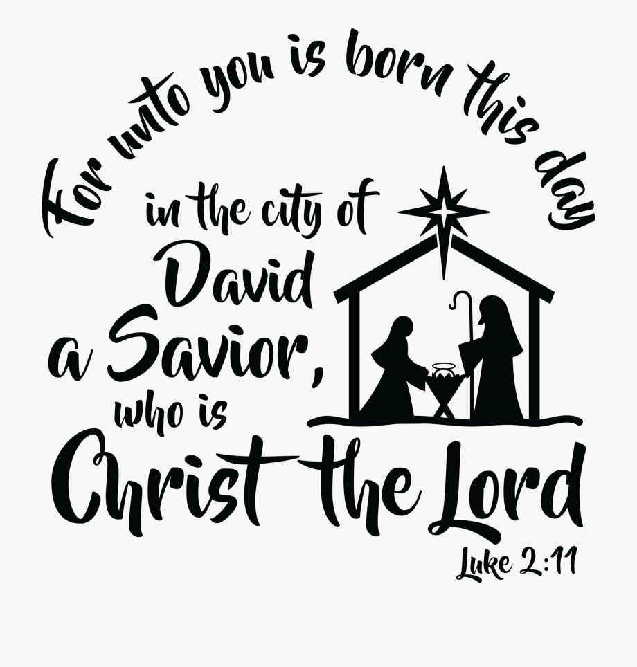 Unto us a child is born free clipart clip art freeuse stock For Unto You Is Born This Day - Calligraphy #651270 - Free ... clip art freeuse stock
