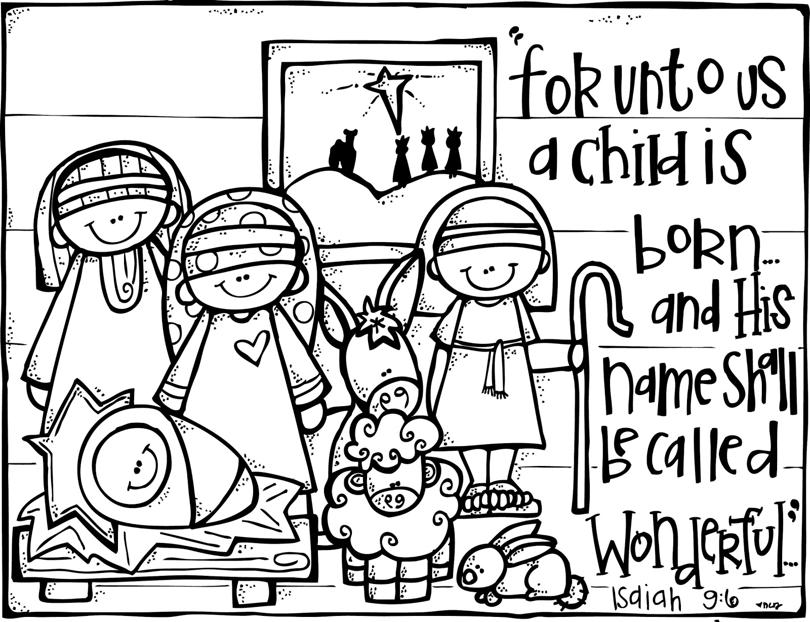 Unto us a child is born free clipart graphic free Free November Christian Cliparts, Download Free Clip Art ... graphic free