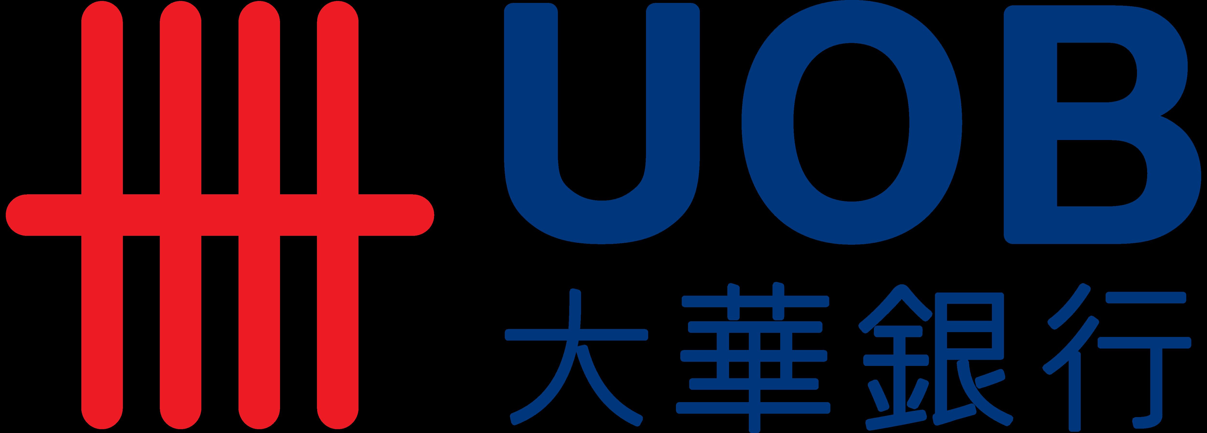 Uob logo clipart vector black and white library United Overseas Bank, UOB – Logos Download vector black and white library
