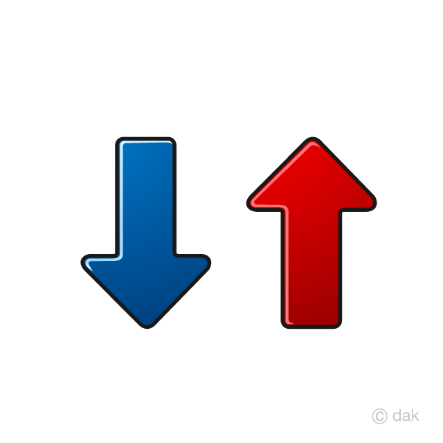 Up and down arrow clipart jpg freeuse stock Up Down Arrow Symbol Free Picture|Illustoon jpg freeuse stock