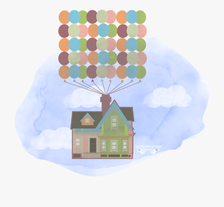 Up movie house clipart transparent png royalty free House Vector Png - Up Pixar Movie Vector #998013 - Free ... png royalty free